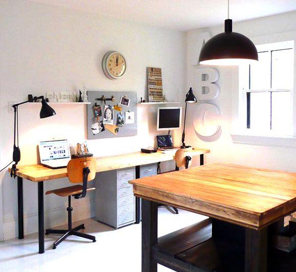 13 best home office images on pinterest desks home office and homes. Black Bedroom Furniture Sets. Home Design Ideas