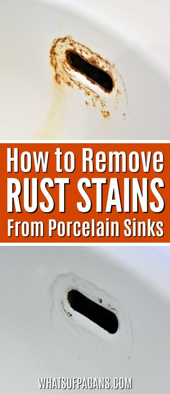 25 Unique Remove Rust Stains Ideas On Pinterest Remove