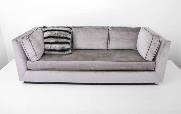 25 Best Ideas About Silver Velvet Sofa On Pinterest