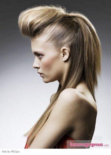 Fabulous Long Quiff Hair Style