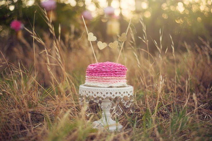 Heather Hamlet Photography Cake Smash Photography Birthday Photography One year old girl Photography Outdoor Photography