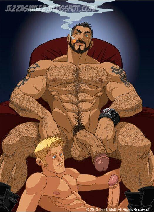 hard core gay muscle