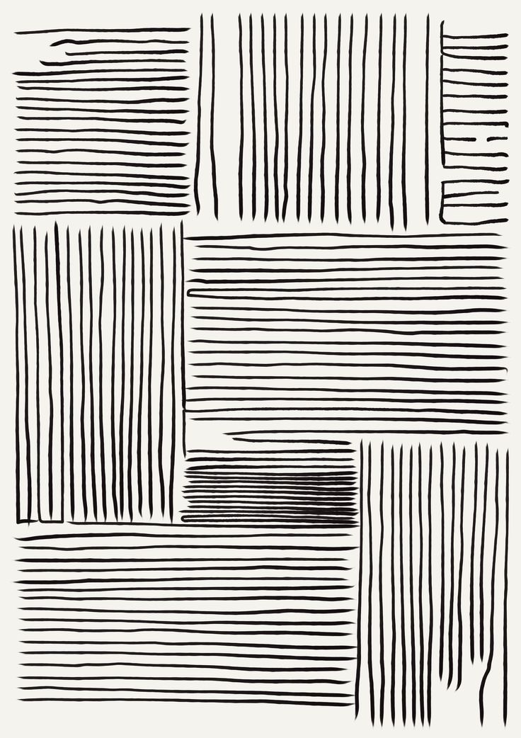 Minimal Abstract Print | Art Print Minimalist Abstract Line Art Art Print Contemporary Posters Modern Wall Art Black And White Simple   – Posters
