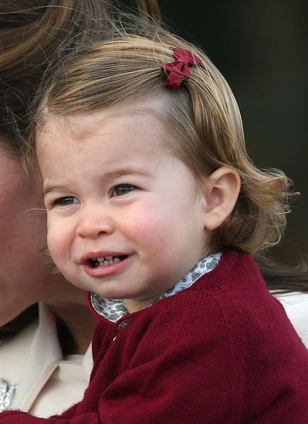Princess Charlotte wave leave from Victoria Harbour to board a sea-plane on the final day of their Royal Tour of Canada on October 1, 2016 in Victoria, Canada.