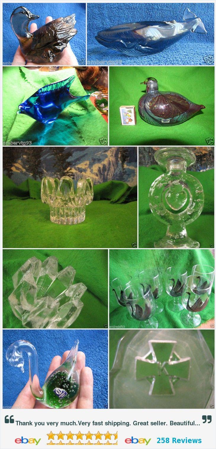 #Art #Glass #collectible #vintage #kosta #boda #WWF #animals #figurine #vase #decor #candelabra #antique #vintage  #paperweight #sculpture #scandinavian #retro #modern http://www.ebay.com/cln/ambervtg93/Art-Glass/90352067018