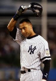 Derek Jeter - tip o'the hat to the crowd after one of many homers. Classy.: Yankees Sports, Yankees Derek Jeter The, Ny Yankees, Yankees Mr Jeter, York Yankees Derek, Captain Derek, New York Yankees, Derek Jeter Mmmmmmm, Yankees Jeter