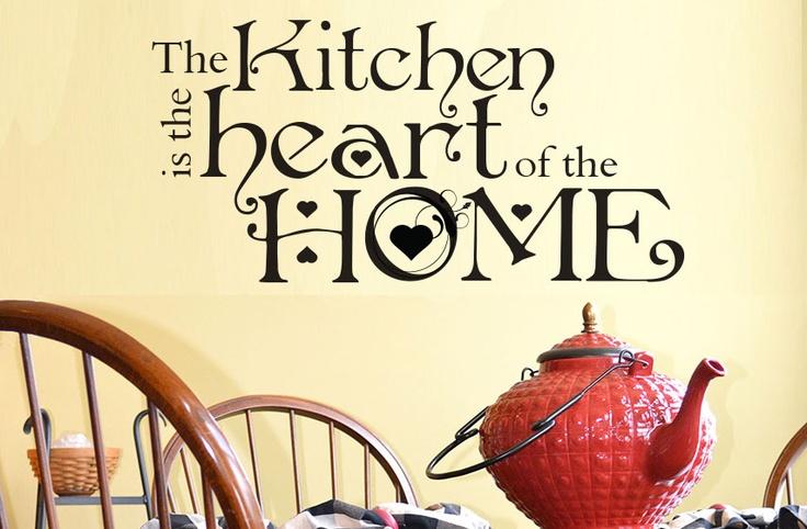Kitchen Heart Decal