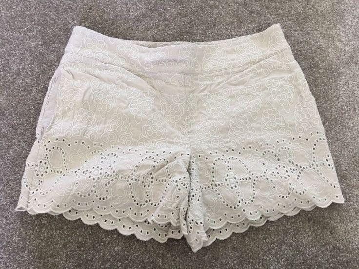 Elevenses Anthropologie Eyelet Shorts Women's Sz 6*    eBay