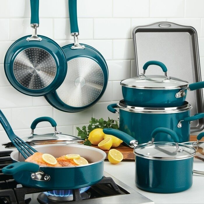 All The Best Kitchen Deals At Wayfair S Memorial Day Sale In 2020 Cookware Set Cookware And Bakeware Cool Kitchens