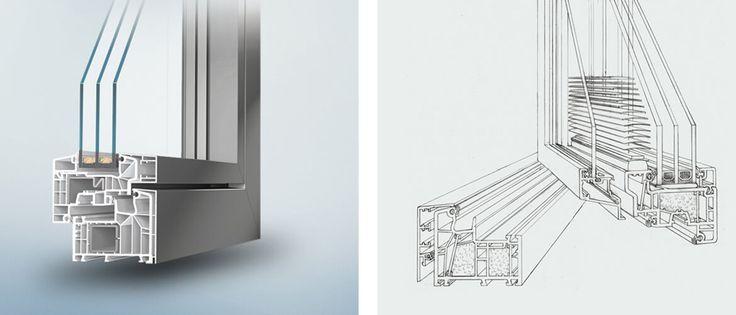 Kunststoff-Alu-Fenster von Fenster Schmidinger aus Gramastetten, Oberösterreich bieten höchste Qualität und helfen beim Senken der Heizkosten.