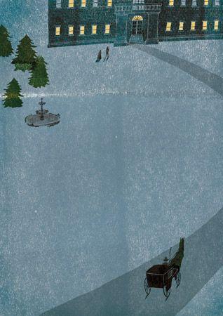 """Books : Masako Kubo, illustration for """"The Secret Garden"""""""