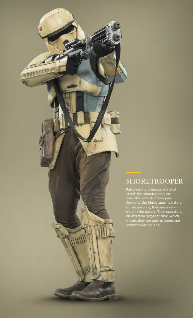 """Imperial Variants in Rogue One - Album on Imgur :- I'm still interpreting shore troopers as """"marines"""" in the empires order of battle."""
