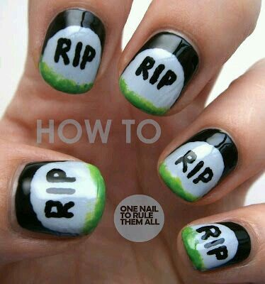 Pin by Deanna Elliott on Paws & Claws | Nails, Halloween ...