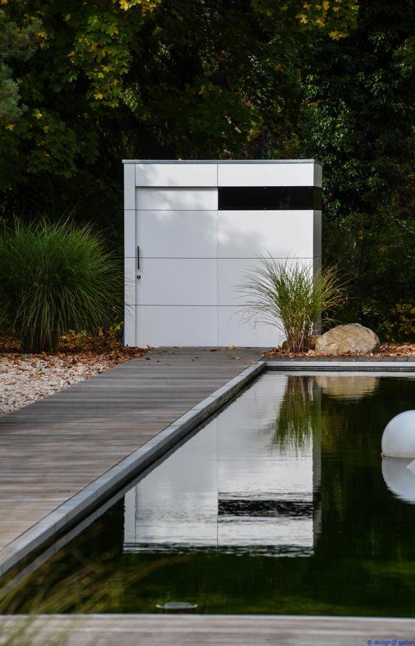 Design Gartenhaus Bilder - Referenzen - Gartenschränke - design@garten