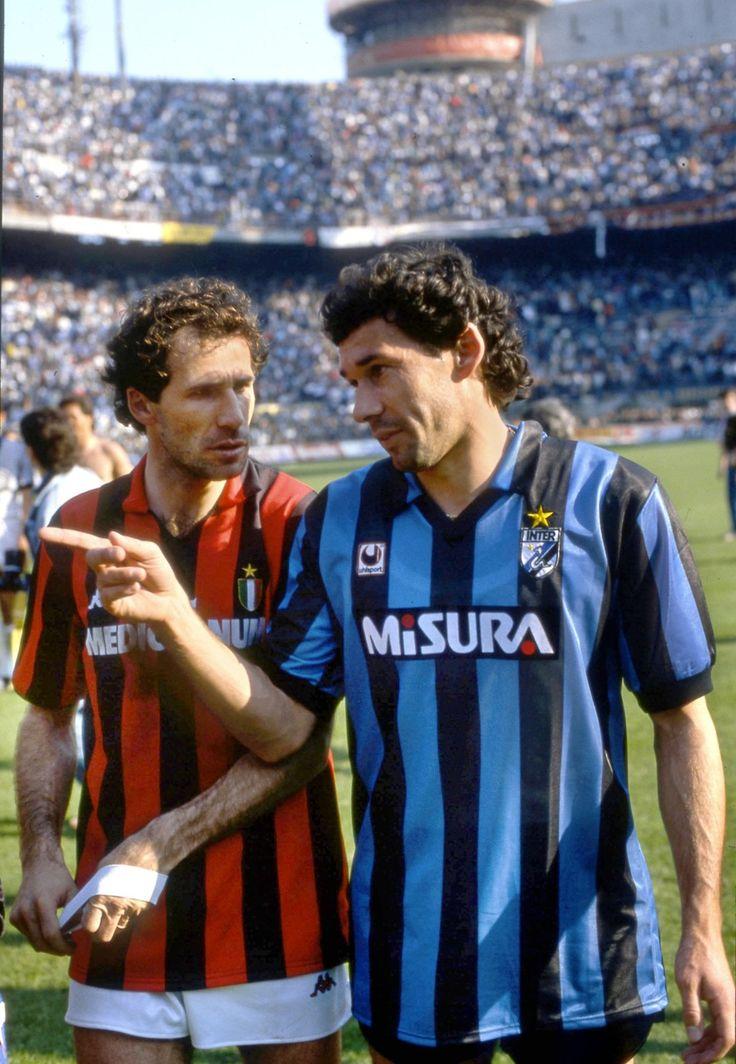 Franco Baresi vs. Beppe Baresi.