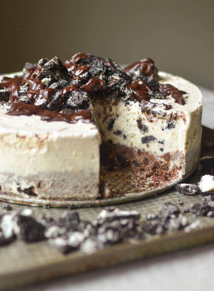 Weekend Dessert Recipe: Frozen Chocolate Oreo Ice Cream Cake — Recipes from The Kitchn