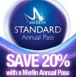Looking to visit Thorpe Park, Legoland,The London Eye, Alton Towers, Sea Life, Warwick Castle and more?  We now have great discounts for the Merlin Annual pass.  All the information on prices, which theme parks are included and how to order the passes is on our website.