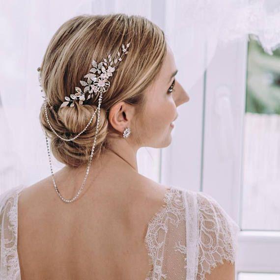 Wedding hair comb Rhinestone Crystal Hair accessories for