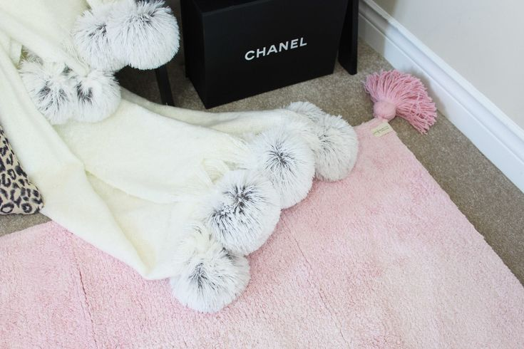 Lorena Canals Ombre Vanilla - soft pink Rug