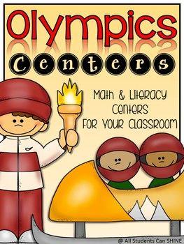 Olympics Centers - Literacy & Math Centers