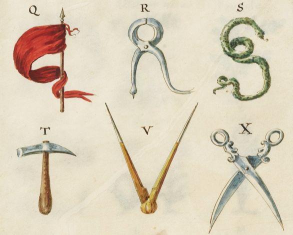 """At auction next month: Giambattista Morandi's 1737 """"Alphabeta."""" (A bargain at two- to three-thousand euros.)"""