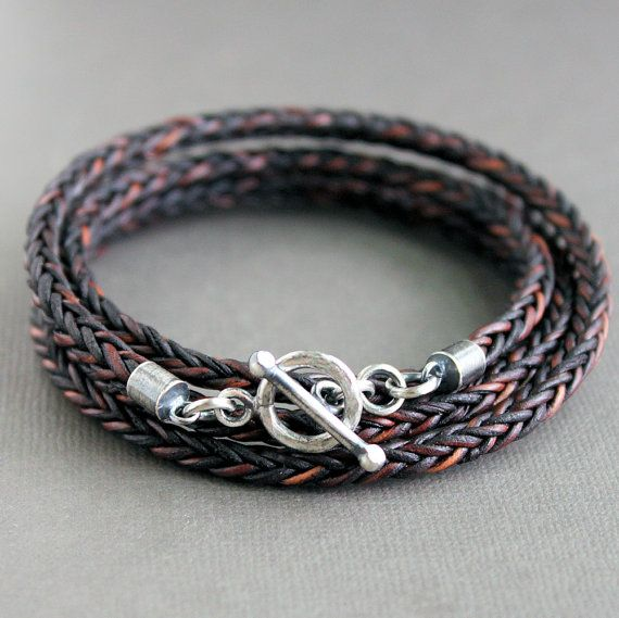63 best Mens Leather Jewelry Designs images on Pinterest Leather