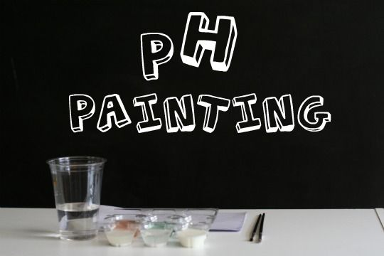 SCIENCE + NATURE - pH Painting