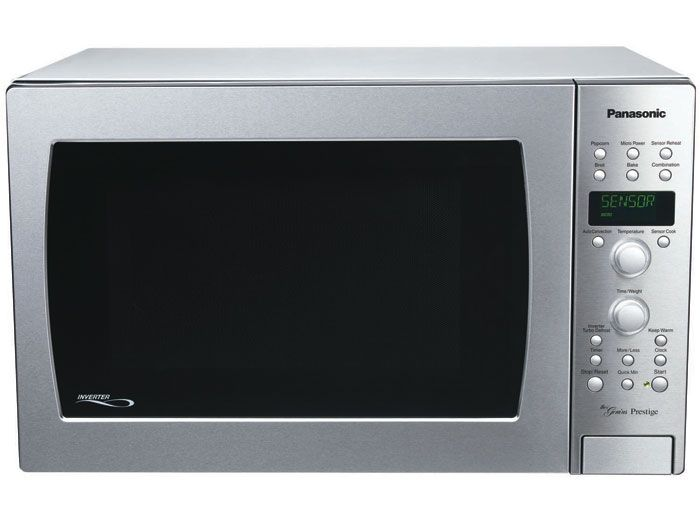 Panasonic NN-CD989S - Full Size 1.5 Cu. Ft. Prestige Counter Top/Built-in Convection Microwave Oven with Inverter Technology