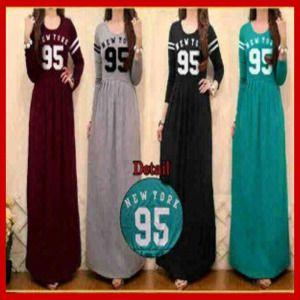 Baju Muslim Maxi long Dress New york 95 - Busana Muslim Terbaru