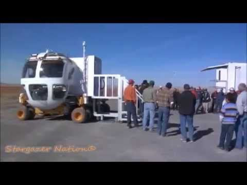 NASA Testing Astronaut Rovers  for Missions to Mars - RAW Footage