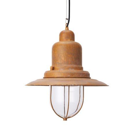 Holmes Pendant 31cm Antique Copper Colour | Freedom Furniture and Homewares