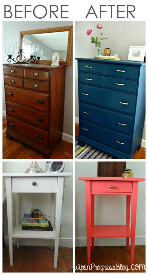 I don't sand or prime ANY of my furniture before painting and I get perfect brushstroke free results every time. Learn my secret to perfect painted furniture