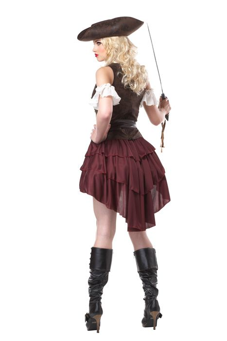 Sexy Swashbuckler Adult Costume - Pure Costumes