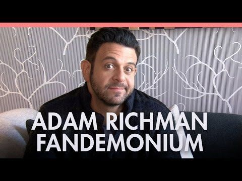 ▶ Adam Richman on new show 'Fandemonium' - YouTube