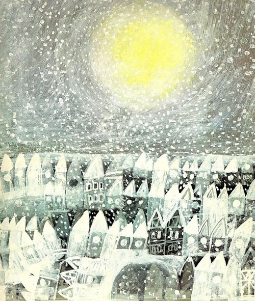 carnetimaginaire: Stepan Zavrel, DIE SONNE Verlorene (1973) maudstitch: El sol llama a dejarlo todo por arthurvankruining en Flickr.
