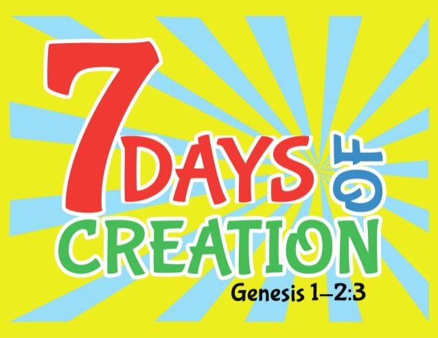 7 Days of Creation Slideshow with Scripture by Creative Sunday School Crafts via slideshare