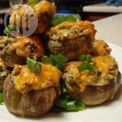 Cheese and Bacon Stuffed Mushrooms @ allrecipes.com.au