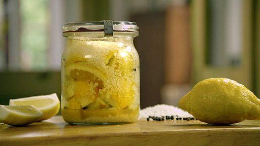 Nakládané citronky — Recepty — Herbář — Česká televize