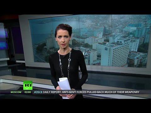 Cuba Part II: Ebola Solidarity & Castro's Daughter on Gay Rights - YouTube