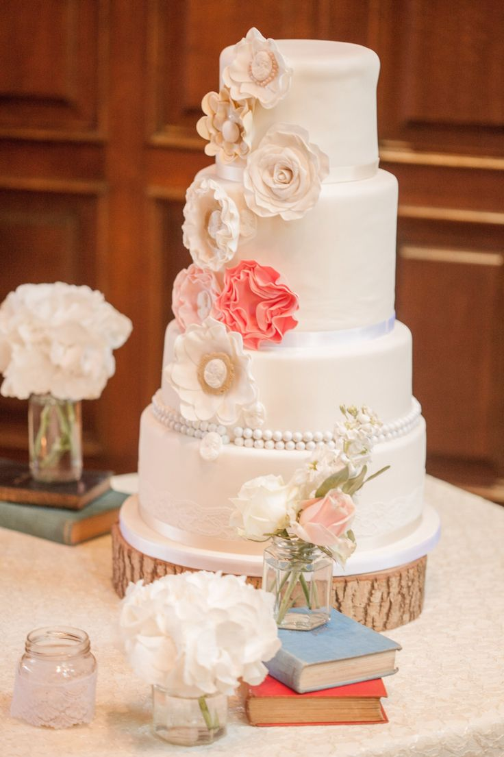 Vintage style cake Symphony in Sugar ❤️