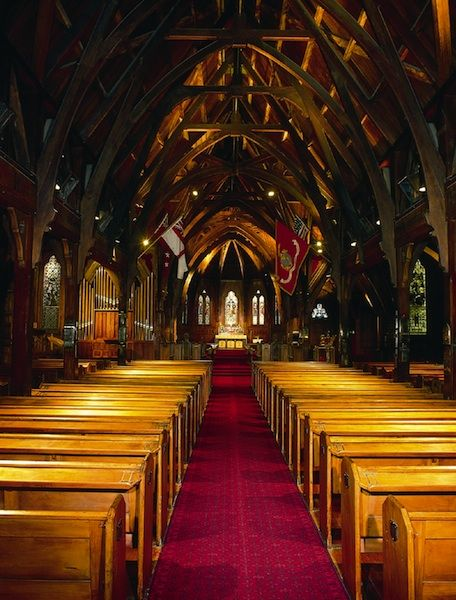 Wedding Venue in NZ - Old Saint Paul's located in Wellington, New Zealand http://www.trulyandmadly.co.nz