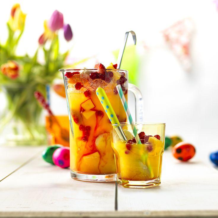 Proost op Pasen met deze alcoholvrije punch.