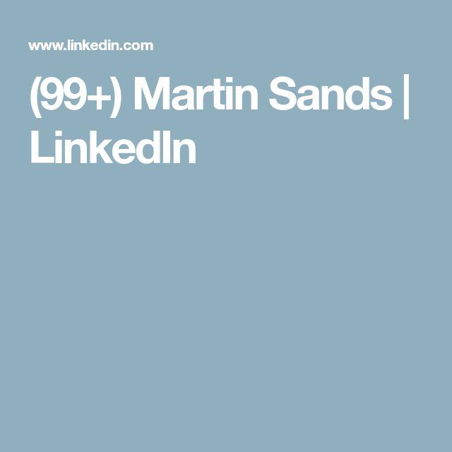 (99+) Martin Sands | LinkedIn