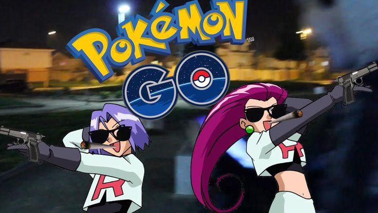 Pokemon GO #1 - El Equipo Rocket nos ataca! - CHILE