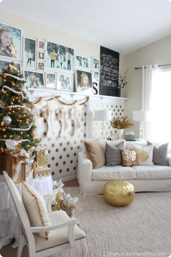 Decorating Modern Home Decor Store Gold Decorated Christmas Trees Christmas  Decorations On Sale 550x825 Gold Christmas