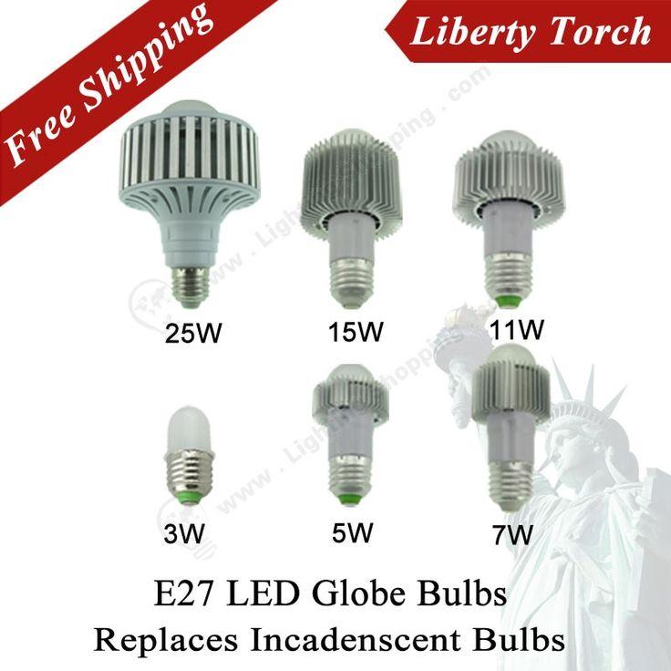 E27 Led Globe Bulbs,110V/220V,Replaces Incandescent bulbs - See more at: http://www.lightingshopping.com/e27-liberty-torch.html