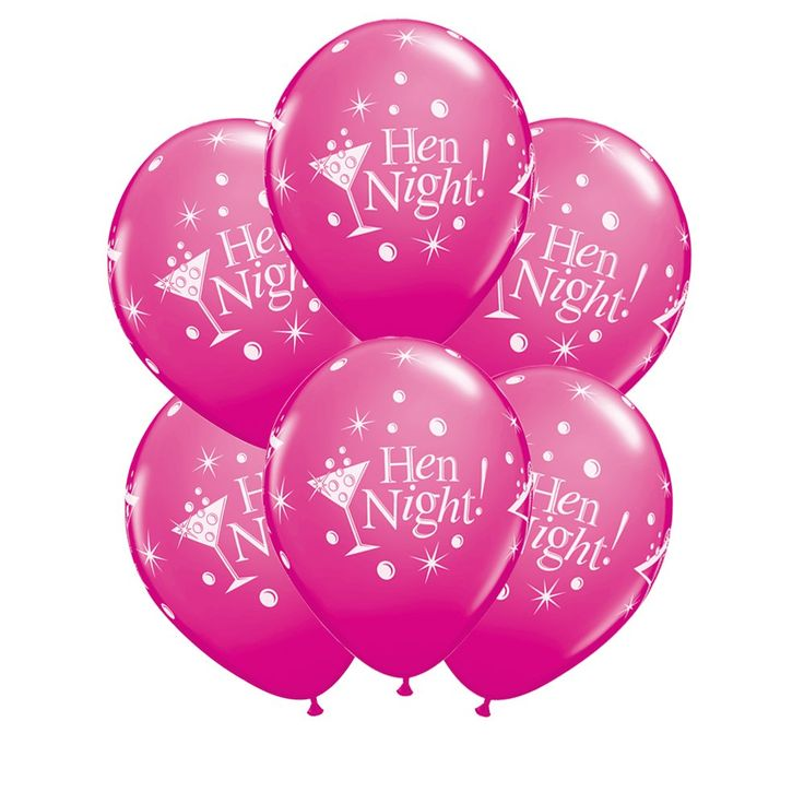 Hen Party Balloons | Hen Party Accessory | Hen Party Superstore