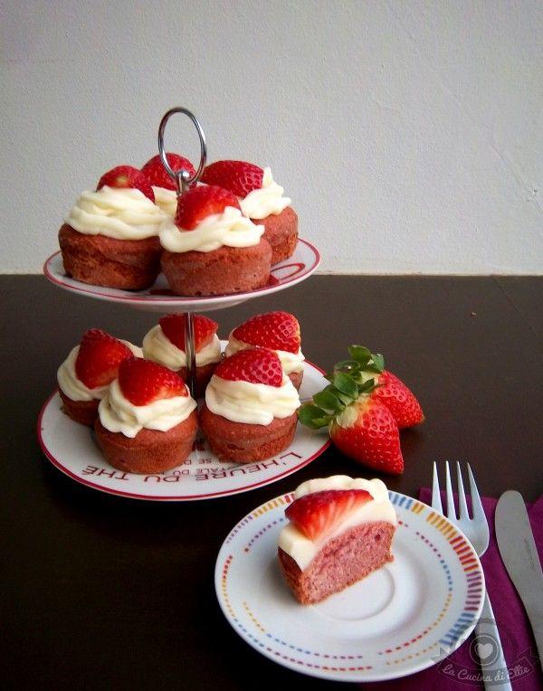 Pink Velvet Cupcakes senza glutine