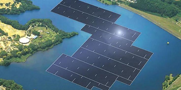 Jepang Bangun Pembangkit Listrik Tenaga Surya Terapung Terbesar di Dunia   01/02/2016   KOMPAS.com Kyocera TCL Solar LLC telah memulai pembangunan pembangkit listrik tenaga surya terapung terbesar di dunia. Berkapasitas 13,7 megawatt (MW), pembangkit listrik terapung itu terletak di Yamakura ... http://propertidata.com/berita/jepang-bangun-pembangkit-listrik-tenaga-surya-terapung-terbesar-di-dunia/ #properti #proyek #jepang