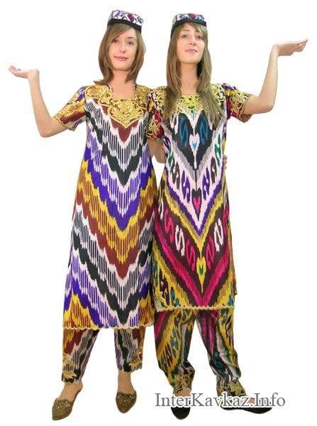 Узбекский народный костюм фото